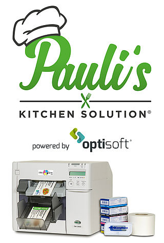 Drucker-Set für Paulis Kitchen Solution by Optisoft