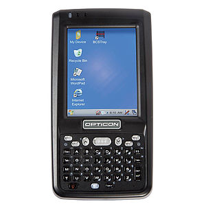 Opticon PHL 8000 PDA mit Strichcode Scanner