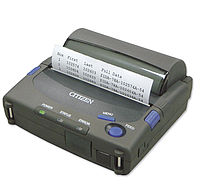 Citizen PD24 tragbarer Drucker
