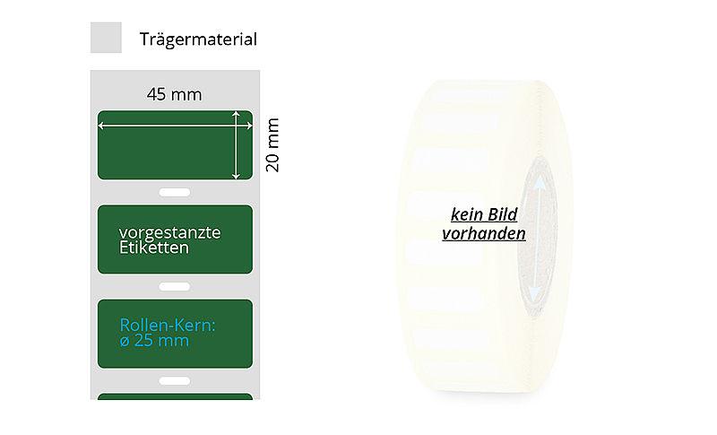 """500 Etiketten Papier 100 x 150mm weiß permanent 1-bahnig 3/"""" Kern"""