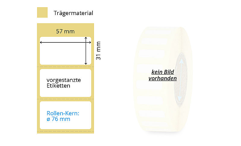 Thermotransfer Papier-Etiketten